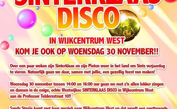 Sinterklaas knutselen en Sinterklaas Disco 2016